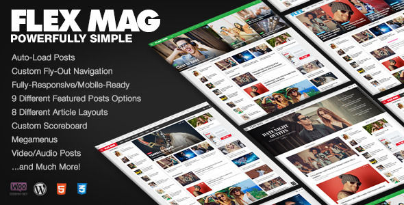 Flex Mag by MVPThemes (magazine WordPress theme)
