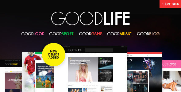 GoodLife by Fuelthemes (magazine WordPress theme)