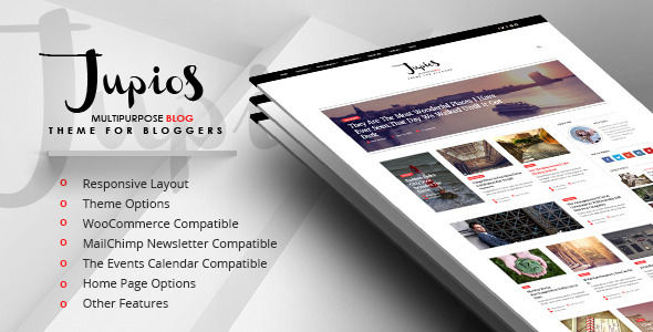 Jupios by GloriaTheme (magazine WordPress theme)