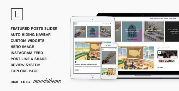 Lark by Mondotheme (magazine WordPress theme)