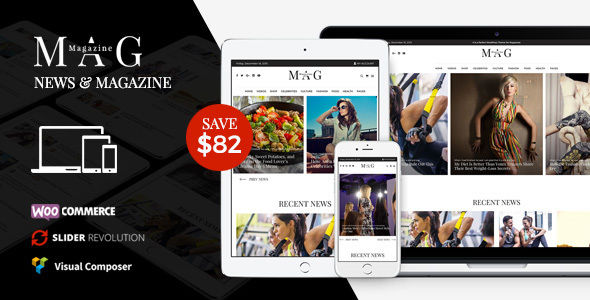 Mag by Themezinho (magazine WordPress theme)