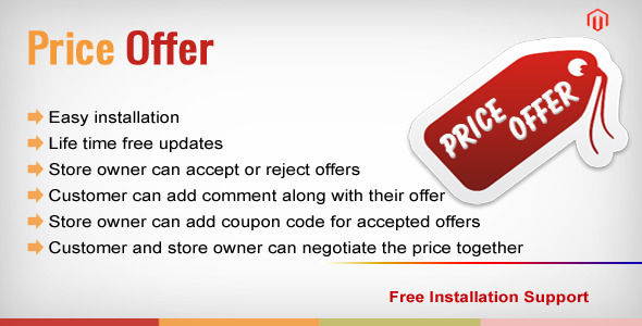 Magento Price Offer by Modulemart (Magento extension)