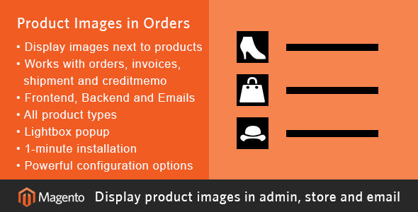 Magento Product Images In Orders by Mage-Mill (Magento extension)