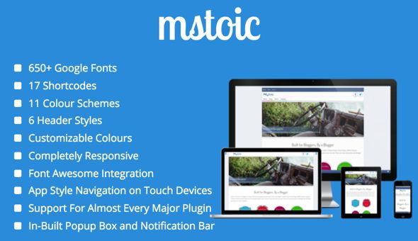 Mstoic by Mstoic (magazine WordPress theme)