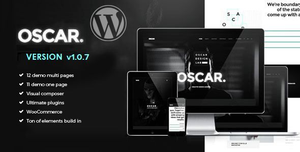 Oscar by Shinetheme (multi-purpose WordPress theme)