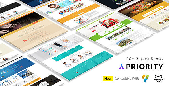 Priority by BuddhaThemes (multi-purpose WordPress theme)