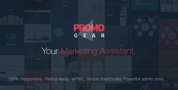 PromoGear by ItembridgeThemes (multi-purpose WordPress theme)