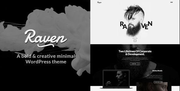 Raven by ZookaStudio (multi-purpose WordPress theme)