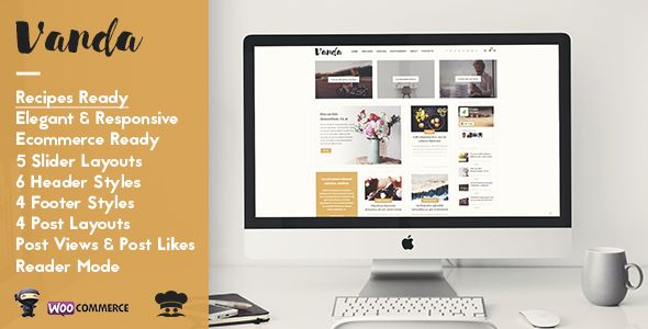 Vanda by Wizio (magazine WordPress theme)