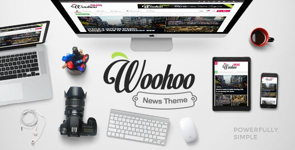 Woohoo by Bdaia (magazine WordPress theme)