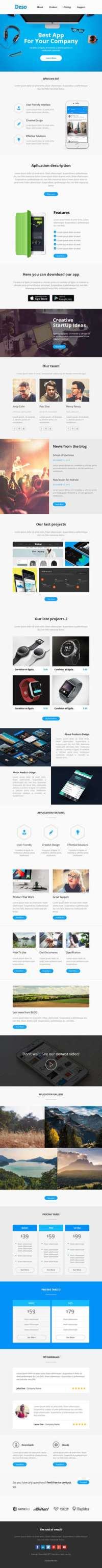 Deso - Responsive Email and Newsletter Template