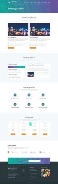 Event Time - Conference - Event WordPress Theme