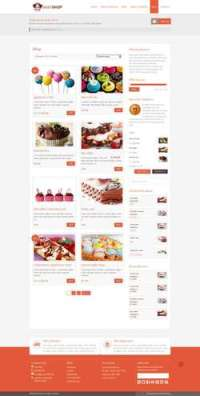 Justshop - Cake WordPress Theme
