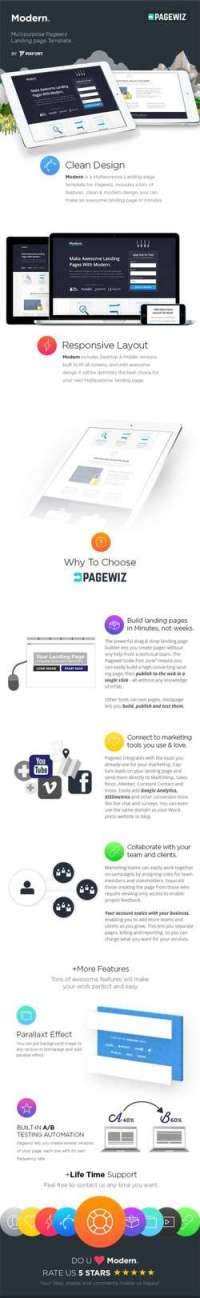 Modern - Multi-Purpose Pagewiz Template