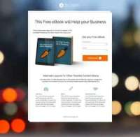 Opt - In Landing Page Package - PageWiz Template