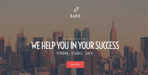best financial wordpress themes feature