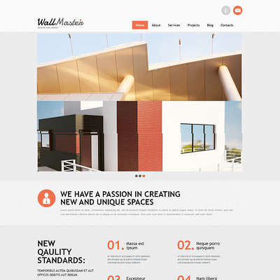 Architectural Art Joomla Template (Joomla template for architecture ) Item Picture