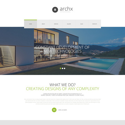 Architecture Responsive Joomla Template (Joomla template for architecture ) Item Picture