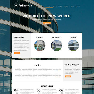 Building Art Joomla Template (Joomla template for architecture ) Item Picture