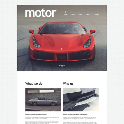 Cars and Bikes Drupal Template (Drupal theme for car, vehicle, and automotive websites) Item Picture