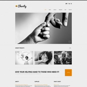 Child Charity Responsive WordPress Theme (charity WordPress theme) Item Picture