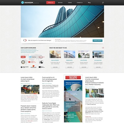 Common Architecture Joomla Template (Joomla template for architecture ) Item Picture