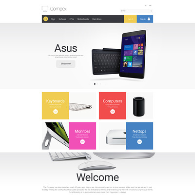 Compex PrestaShop Theme (PrestaShop theme for computer hardware stores) Item Picture