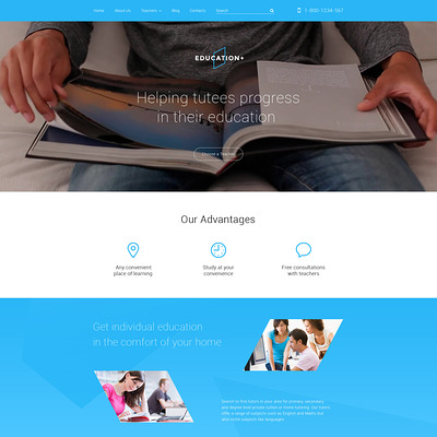Education Drupal Template (Drupal theme for education) Item Picture