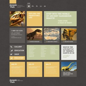 Educational WordPress Theme (museum WordPress theme) Item Picture