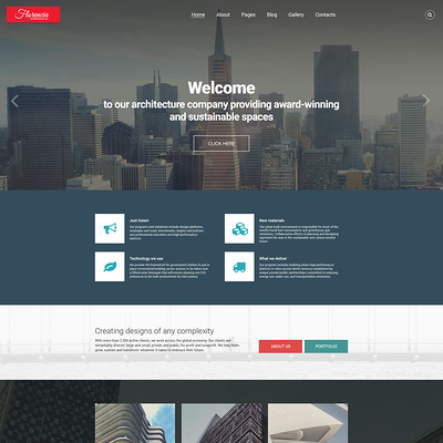 Florencia Architecture Joomla Template (Joomla template for architecture ) Item Picture