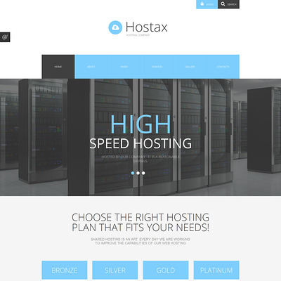 8 of the Best Joomla Templates for Web Hosting Companies | Buildify
