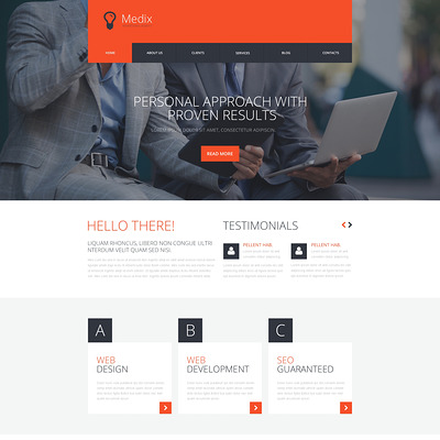 8 of the Best WordPress Themes for Advertising Agencies – Buildify