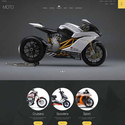 Motorsports Store Magento Theme (Magento theme for car, automotive, and vehicle stores) Item Picture