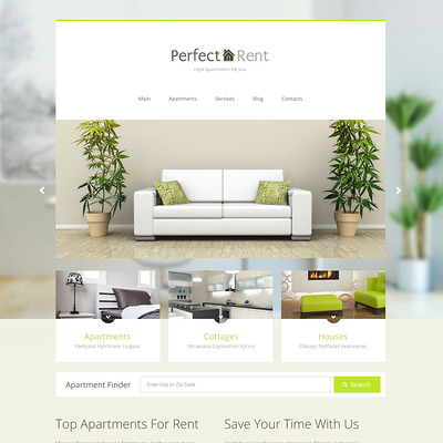 Perfect Rent Joomla Template (Joomla theme for real estate) Item Picture