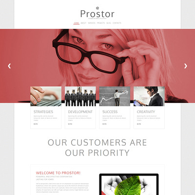 Pro Solutions for Startups Joomla Template (Joomla template for consultants and consulting firms) Item Picture