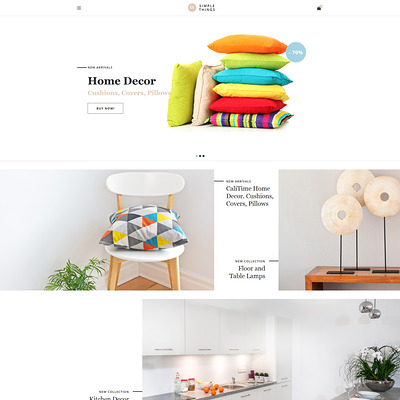 Simple Things (OpenCart theme for interior design and home decor stores) Item Picture
