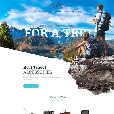 Veltry (PrestaShop themes for travel and tourism companies) Item Picture