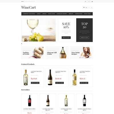 Wine Love PrestaShop Theme (PrestaShop theme for liquor, alcohol, beer, and wine stores) Item Picture