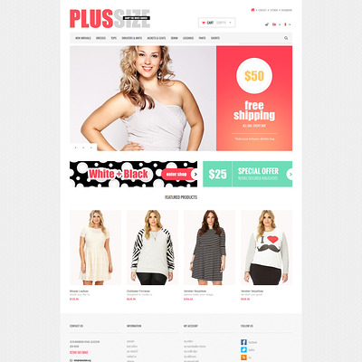 Women Clothes Store PrestaShop Theme (PrestaShop theme for womens clothing) Item Picture