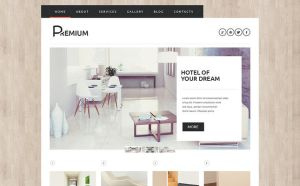 best wordpress themes hotels feature