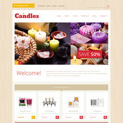 Array WooCommerce Theme (WooCommerce theme for florists and gift stores) Item Picture