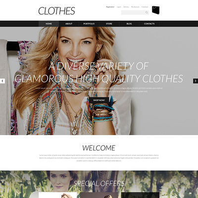 Designer Clothes WooCommerce Theme (WooCommerce theme for selling clothing for men and women) Item Picture