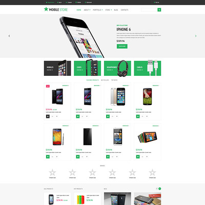 Electronics Store WooCommerce Theme (WooCommerce theme selling electronics) Item Picture