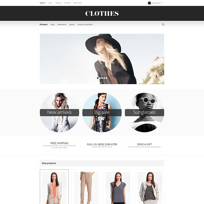 Fashionable Apparel WooCommerce Theme (WooCommerce theme for selling clothing for men and women) Item Picture