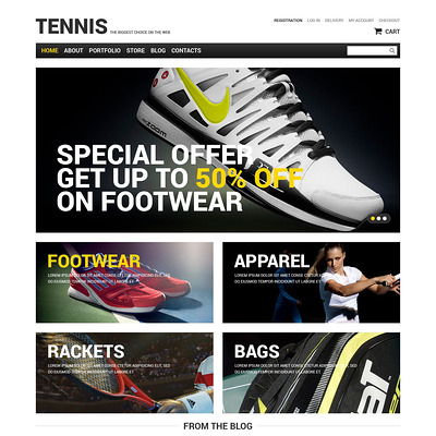 Fragrant Smoke WooCommerce Theme (WooCommerce theme for sports, gym, and fitness stores) Item Picture