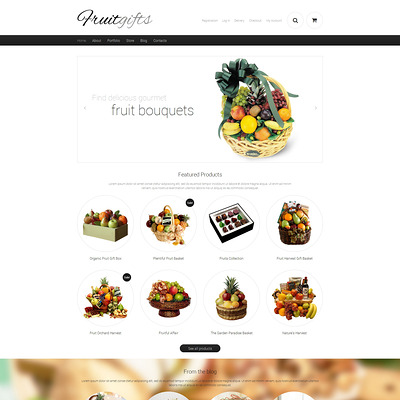 Gifts Responsive WooCommerce Theme (WooCommerce theme for florists and gift stores) Item Picture