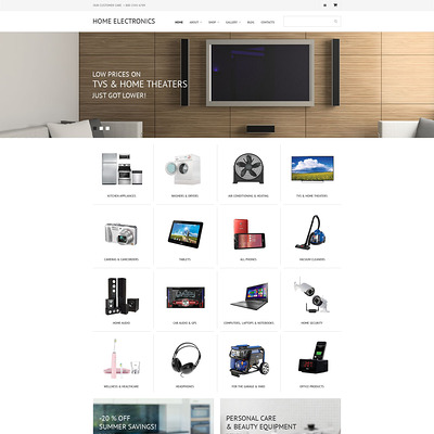 Home Electronics WooCommerce Theme (WooCommerce theme selling electronics) Item Picture