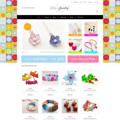 Jewelry Responsive WooCommerce Theme (WooCommerce theme for selling jewelry and watches) Item Picture