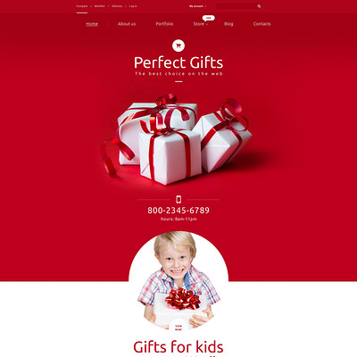 Perfect Gifts WooCommerce Theme (WooCommerce theme for florists and gift stores) Item Picture