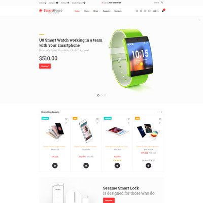 SmartHouse (WooCommerce theme selling electronics) Item Picture